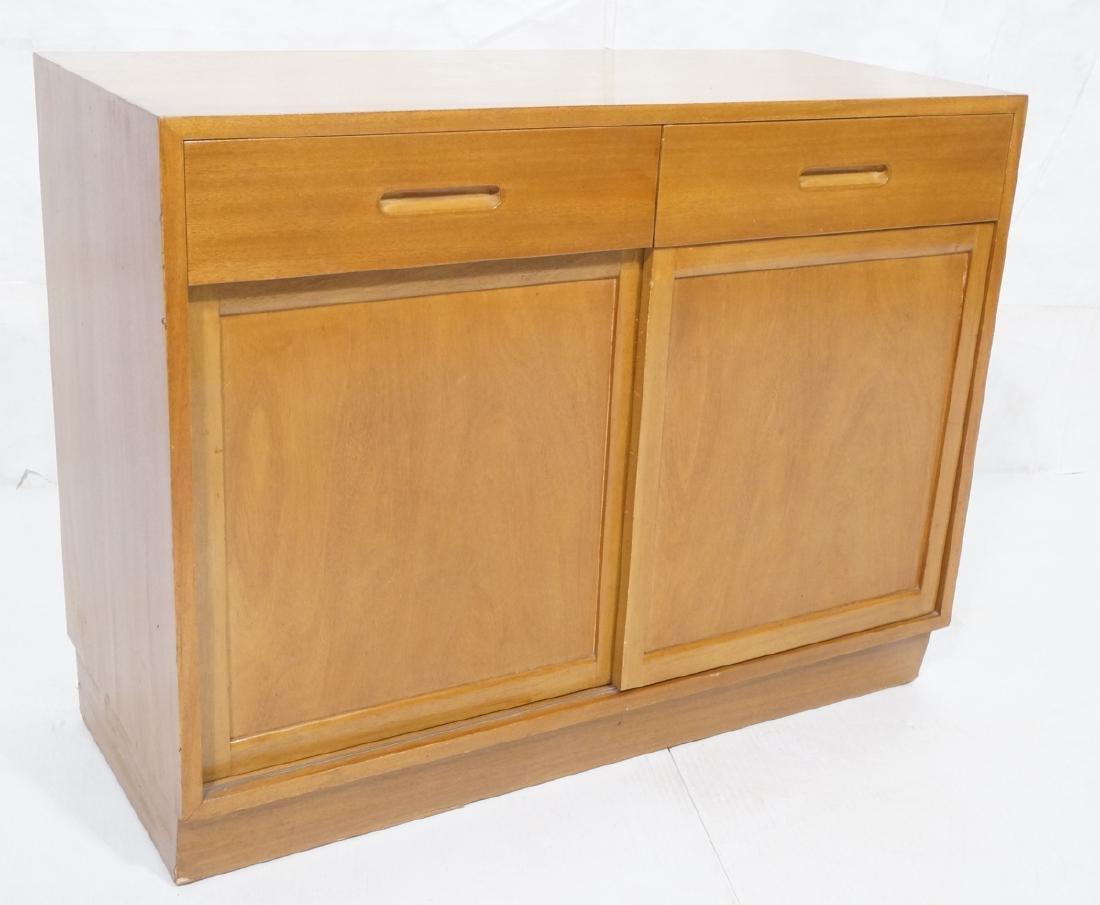 DUNBAR Mahogany Small Server Buffet. 2 drawers 2
