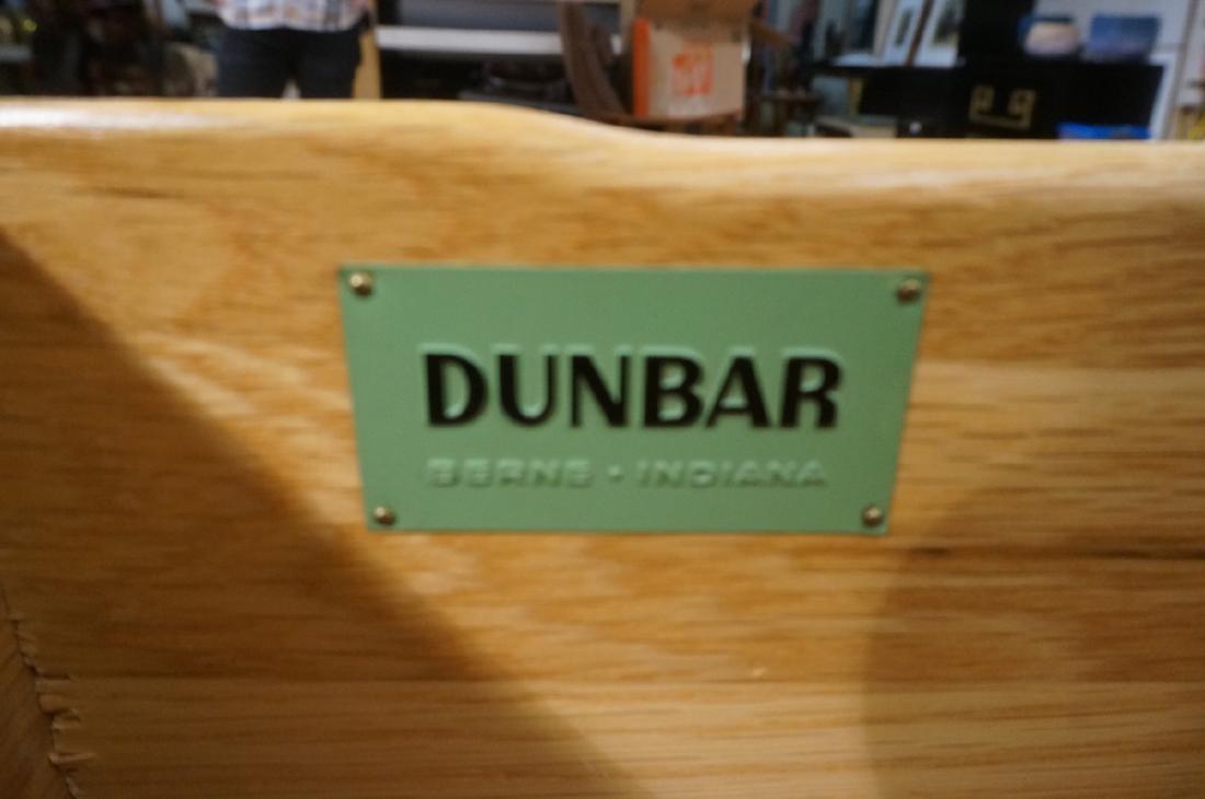 DUNBAR Mahogany Small Server Buffet. 2 drawers 2 - 2