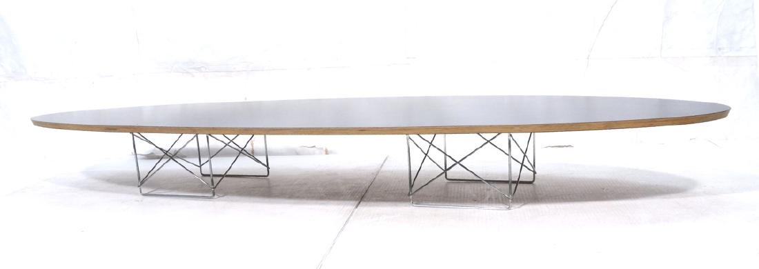 HERMAN MILLER Modernist Surfboard Cocktail Table.