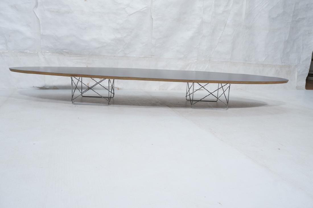 HERMAN MILLER Modernist Surfboard Cocktail Table. - 4