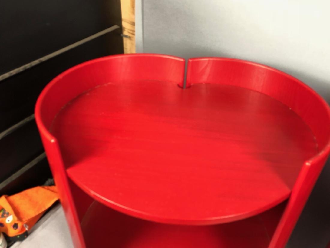 "Pr KUZAHIDE TAKAHAMA ""Gea"" Side Tables. Red anili - 4"