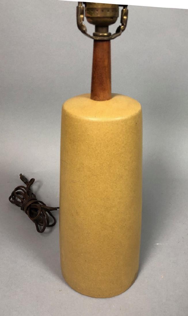 MARTZ for MARSHALL STUDIO Ceramic Table Lamp. Och