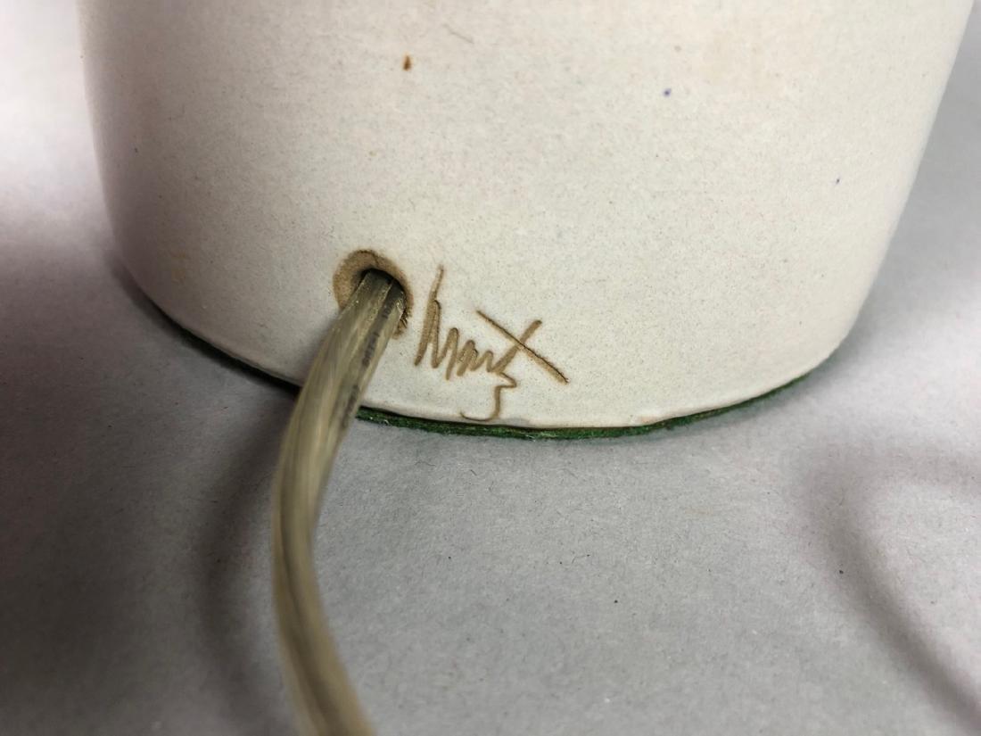 MARTZ for MARSHALL STUDIO Ceramic Table Lamp. Lig - 4