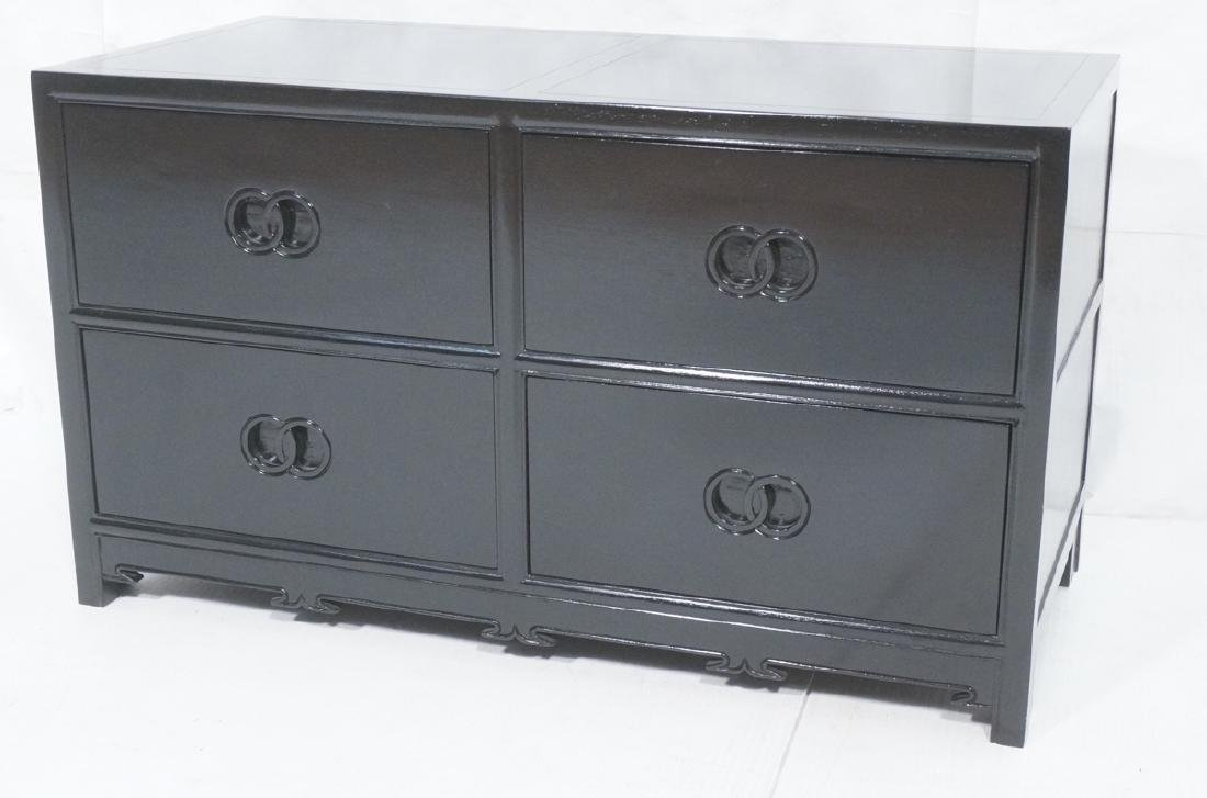 MICHAEL TAYLOR for BAKER Ebonized Cabinet Bachelo