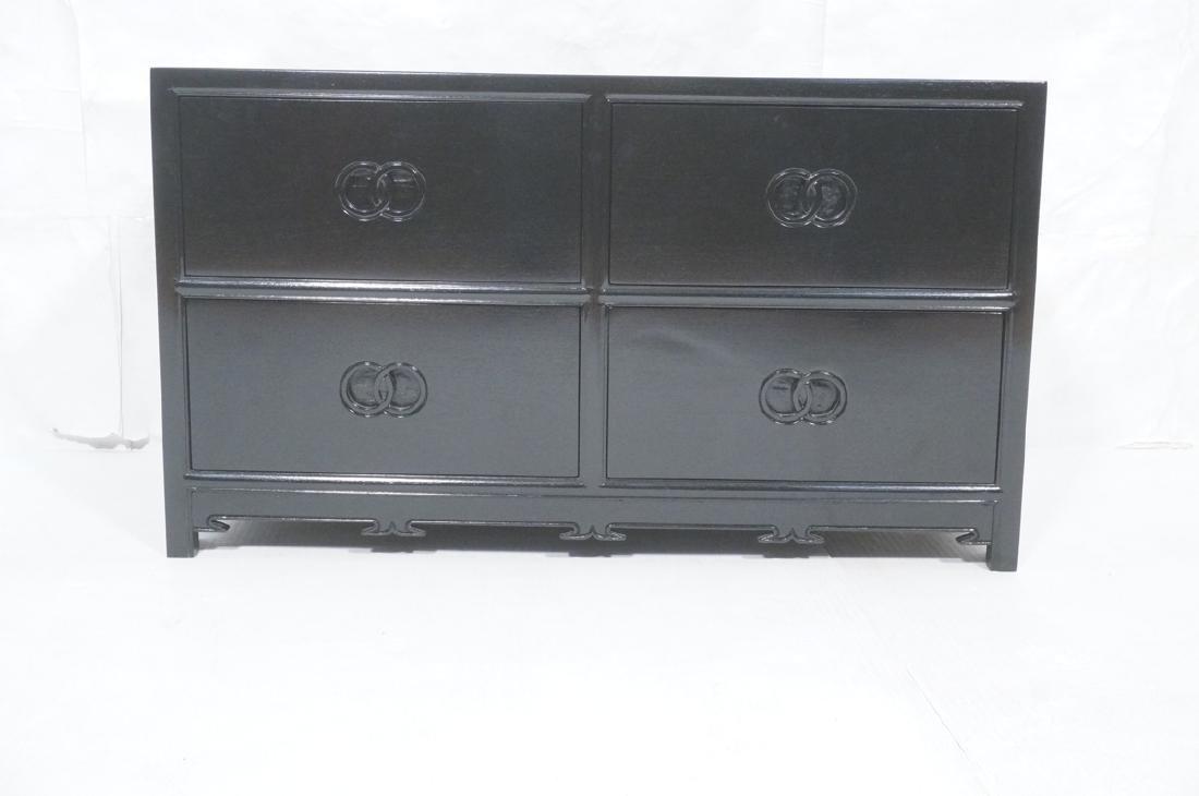 MICHAEL TAYLOR for BAKER Ebonized Cabinet Bachelo - 2