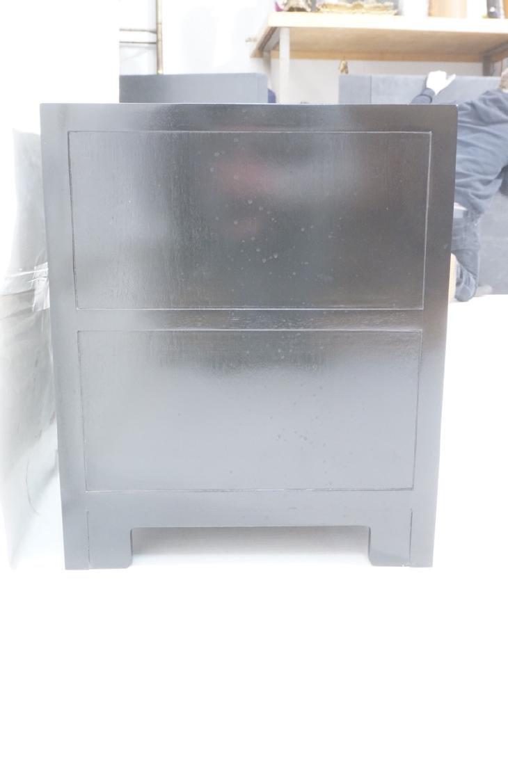 MICHAEL TAYLOR for BAKER Ebonized Cabinet Bachelo - 3