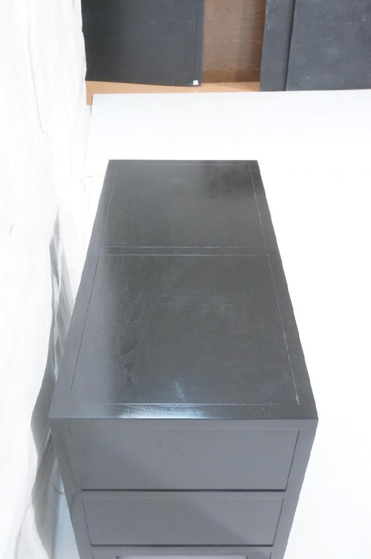 MICHAEL TAYLOR for BAKER Ebonized Cabinet Bachelo - 4