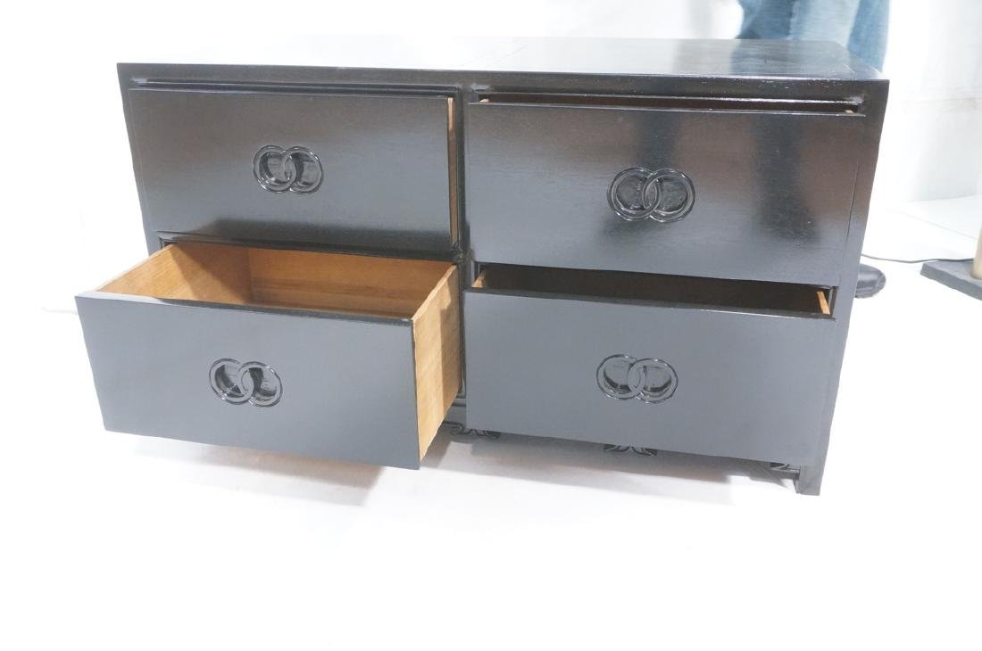 MICHAEL TAYLOR for BAKER Ebonized Cabinet Bachelo - 9