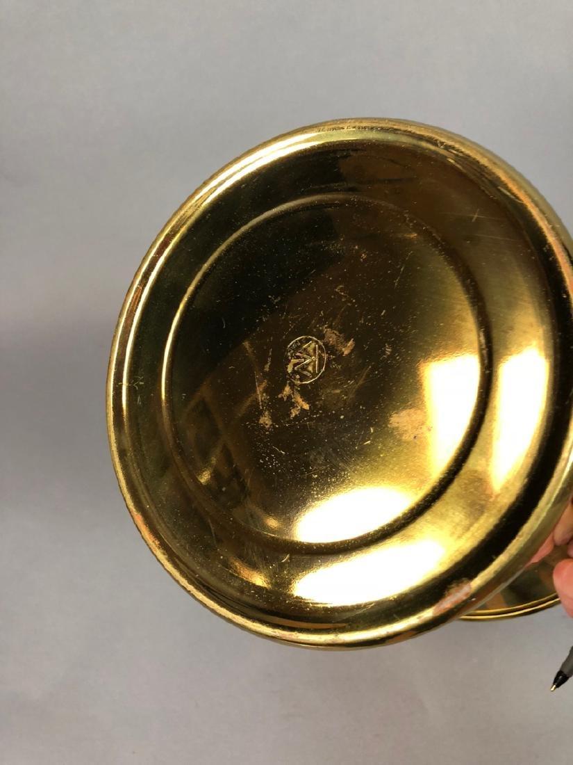 Modern Italian Modern Brass Ice Bucket.  Flared l - 3