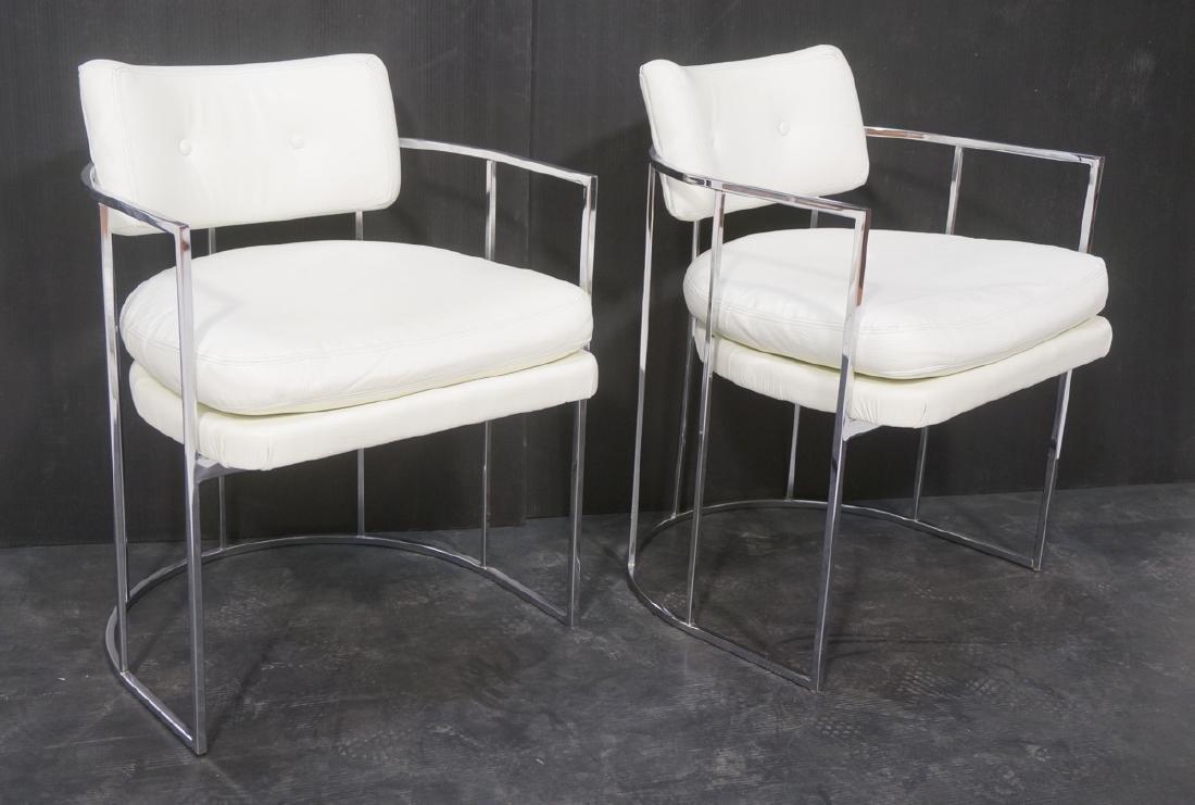 Pr Milo Baughman for THAYER COGGIN Lounge Chairs.