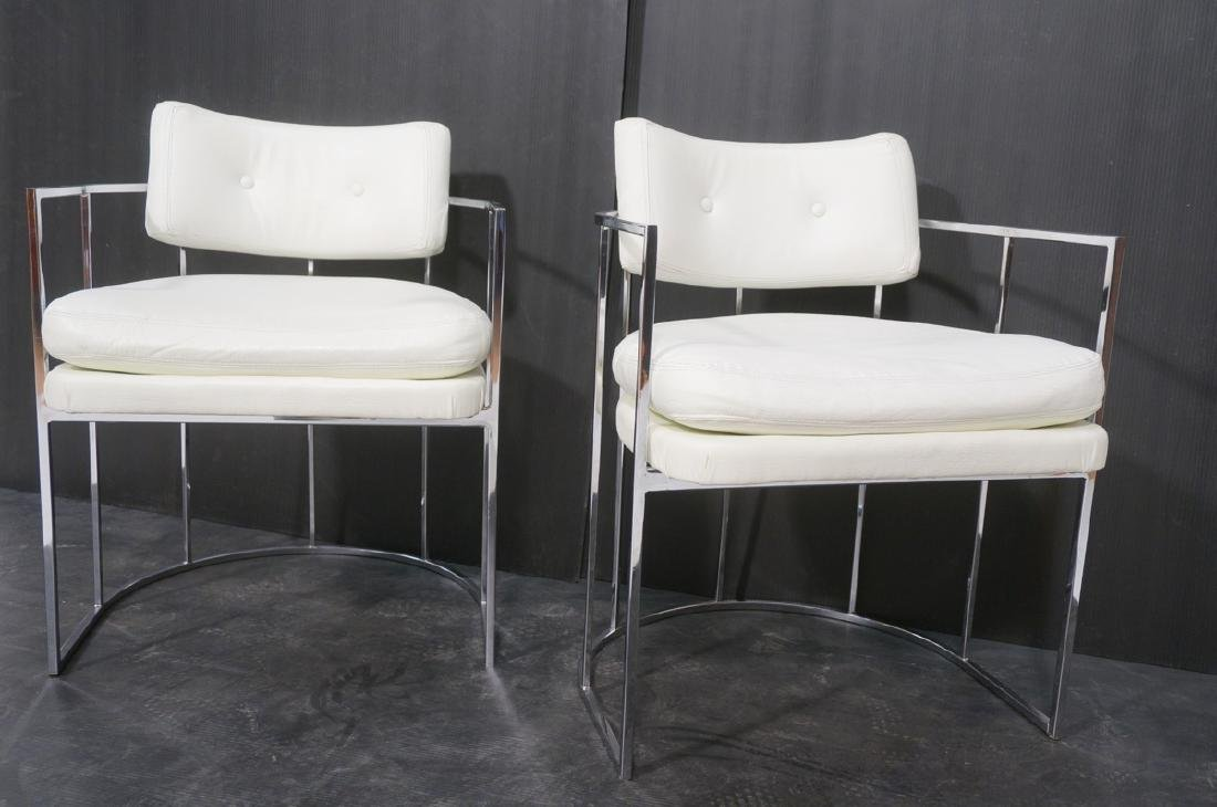 Pr Milo Baughman for THAYER COGGIN Lounge Chairs. - 3