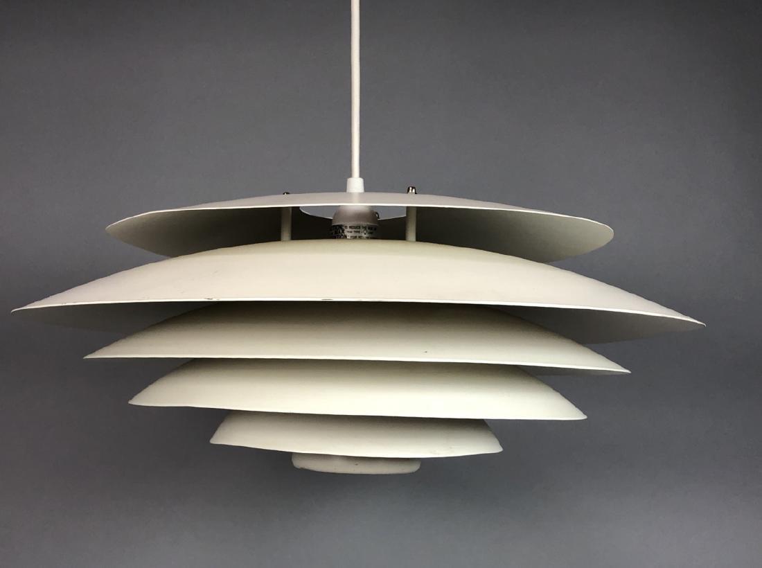 LOUIS POULSEN Hanging Louver Chandelier Light Fix