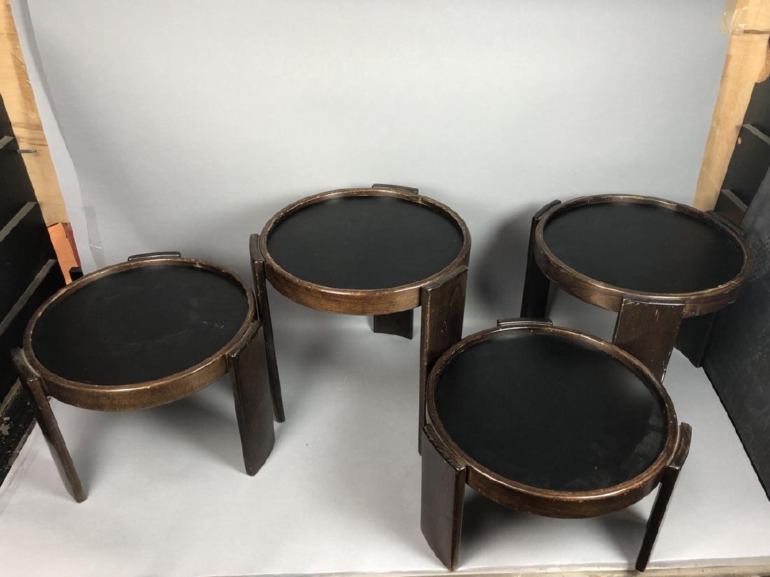 Set CASSINA Stacking Nesting Modern Tables. Rever - 2