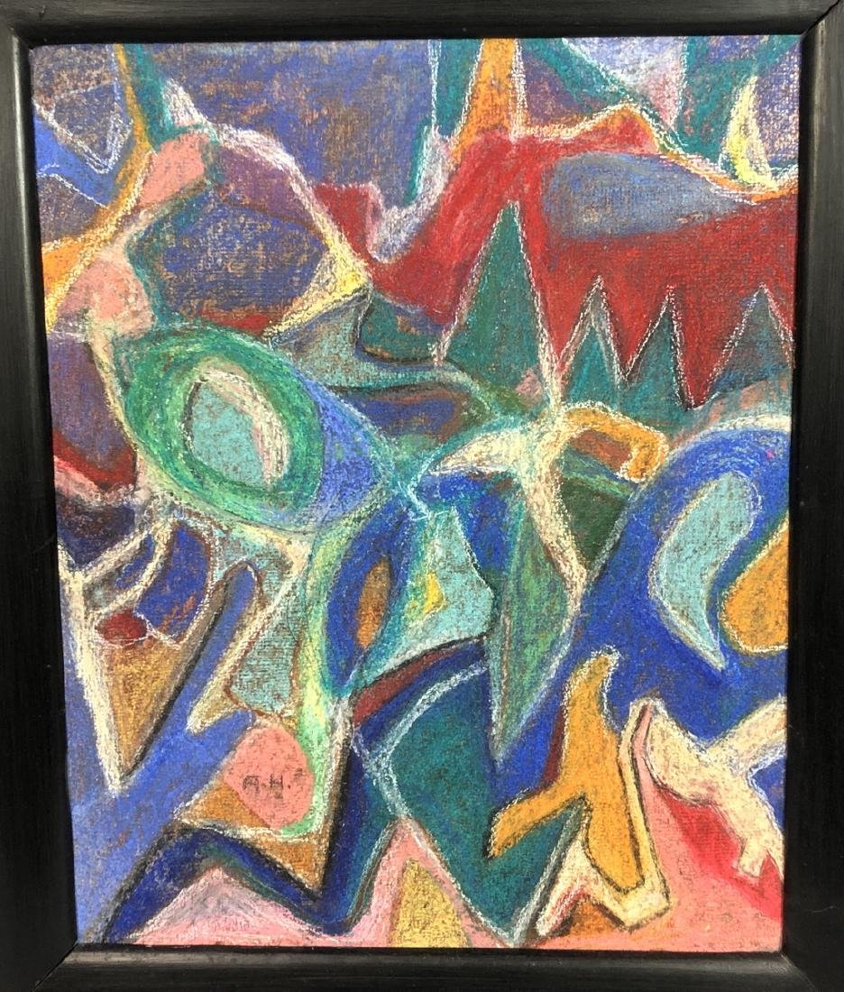 ADOLF HOLZEL Modernist Abstract Oil Painting. Ori