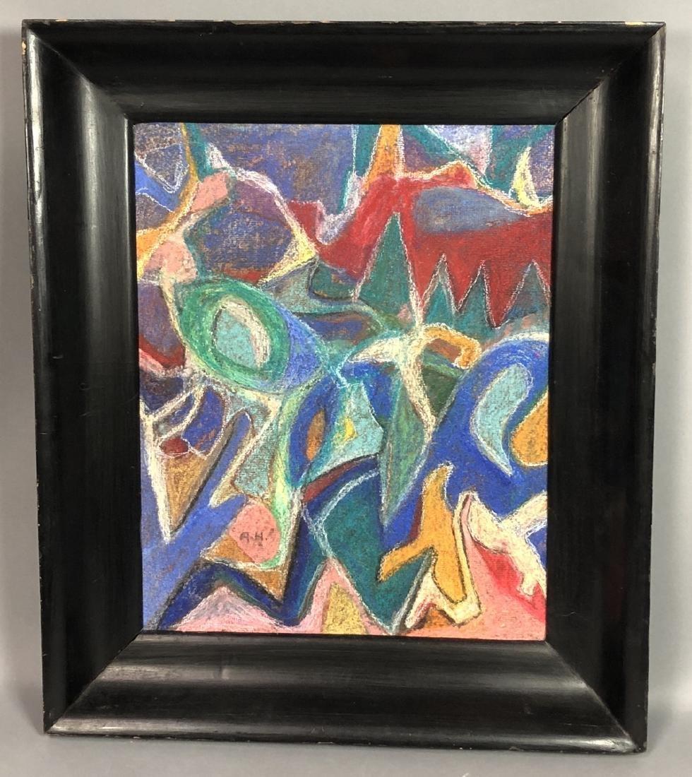 ADOLF HOLZEL Modernist Abstract Oil Painting. Ori - 2