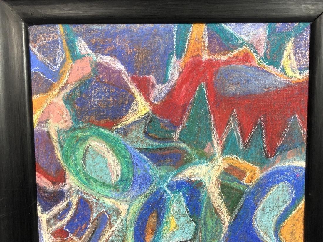 ADOLF HOLZEL Modernist Abstract Oil Painting. Ori - 5