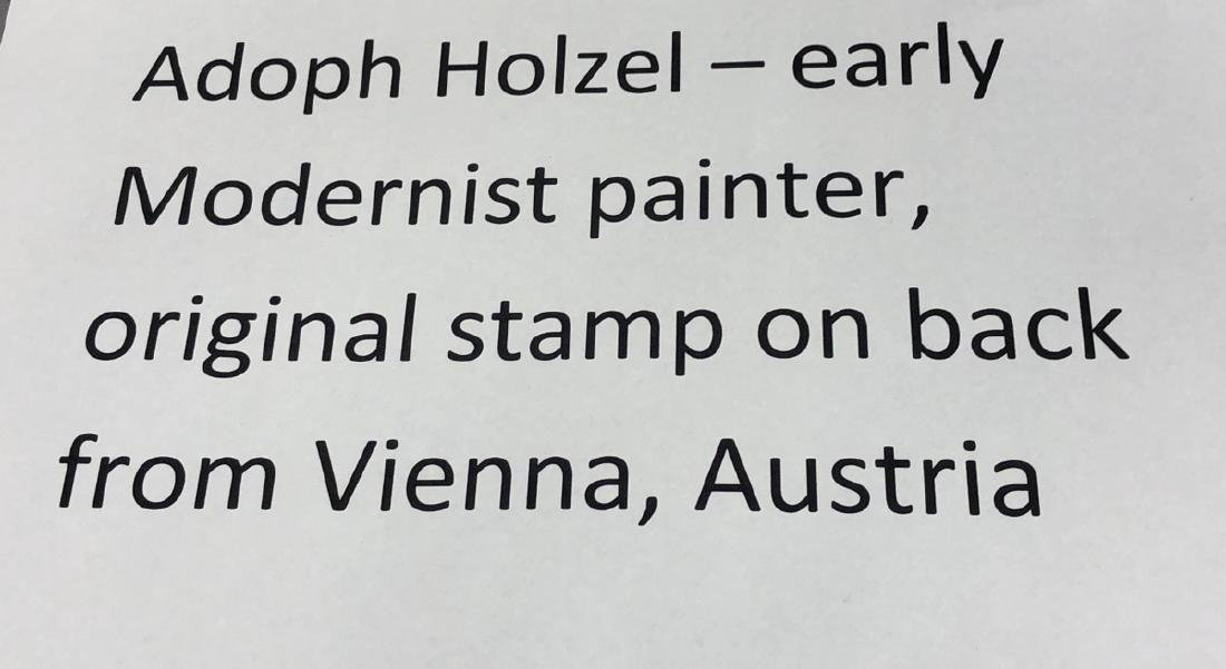 ADOLF HOLZEL Modernist Abstract Oil Painting. Ori - 8