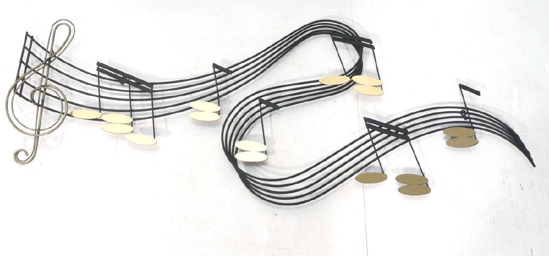 C JERE for ARTISAN HOUSE Music Notes Wall Sculptu