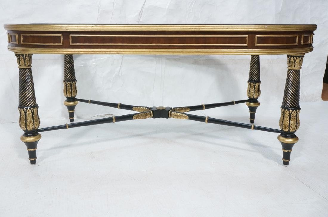 E.J. VICTOR Regency Style Cocktail Table. Inset b - 2