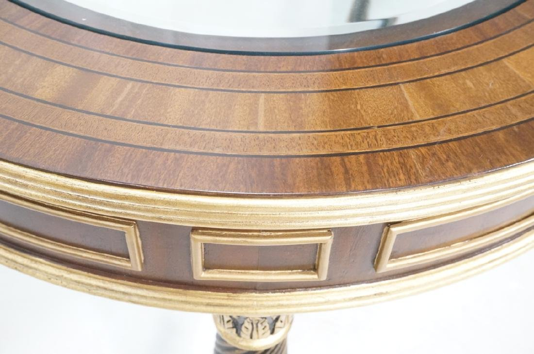 E.J. VICTOR Regency Style Cocktail Table. Inset b - 8