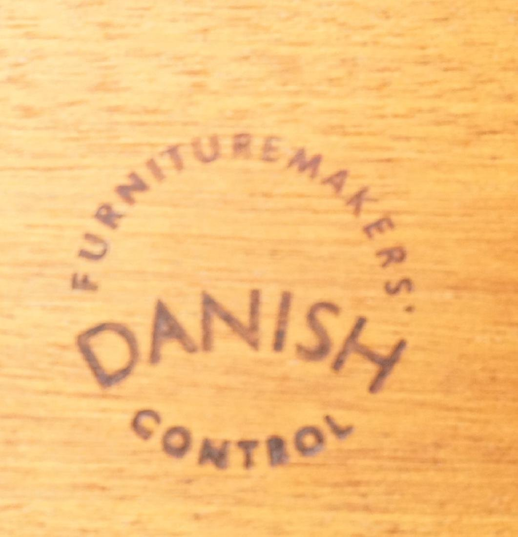 Danish Modern Teak Refractory Dining Table. Bande - 2