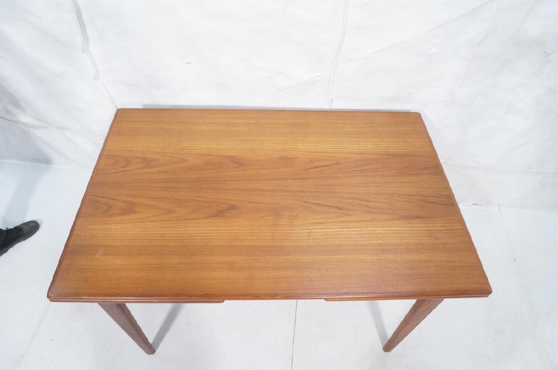 Danish Modern Teak Refractory Dining Table. Bande - 4