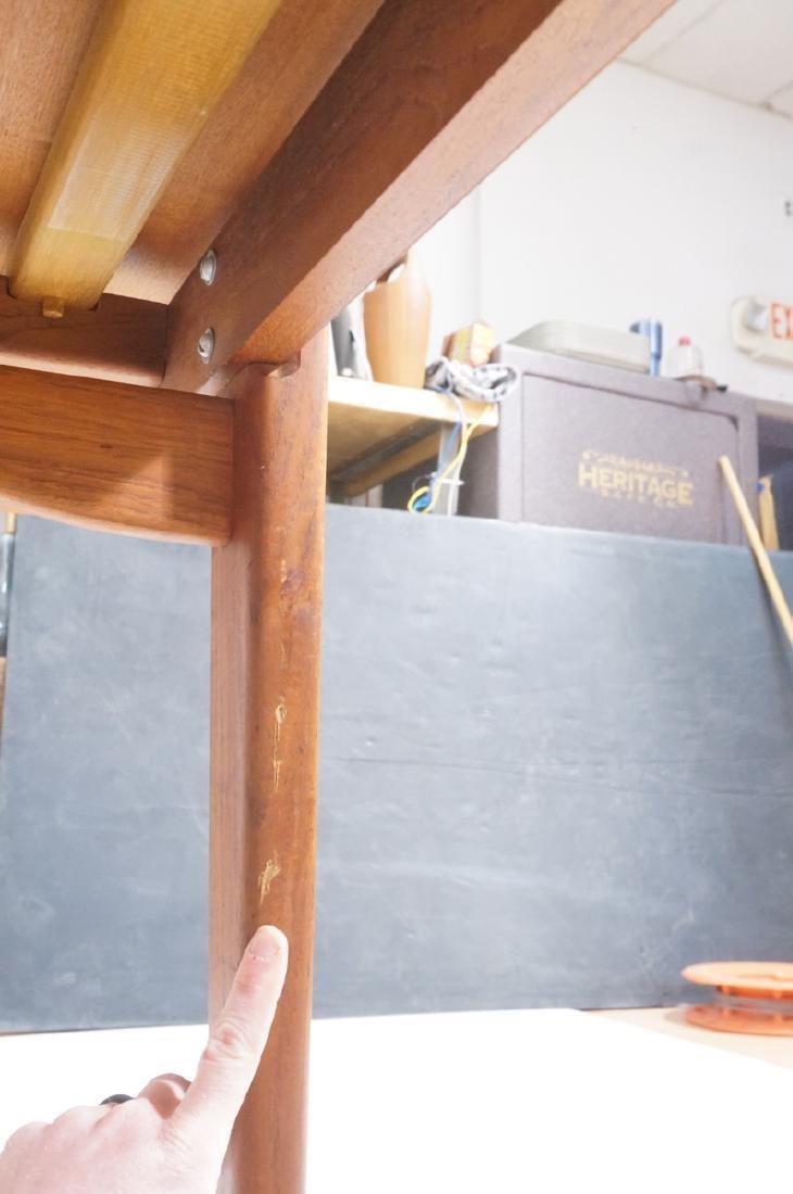 Danish Modern Teak Refractory Dining Table. Bande - 9