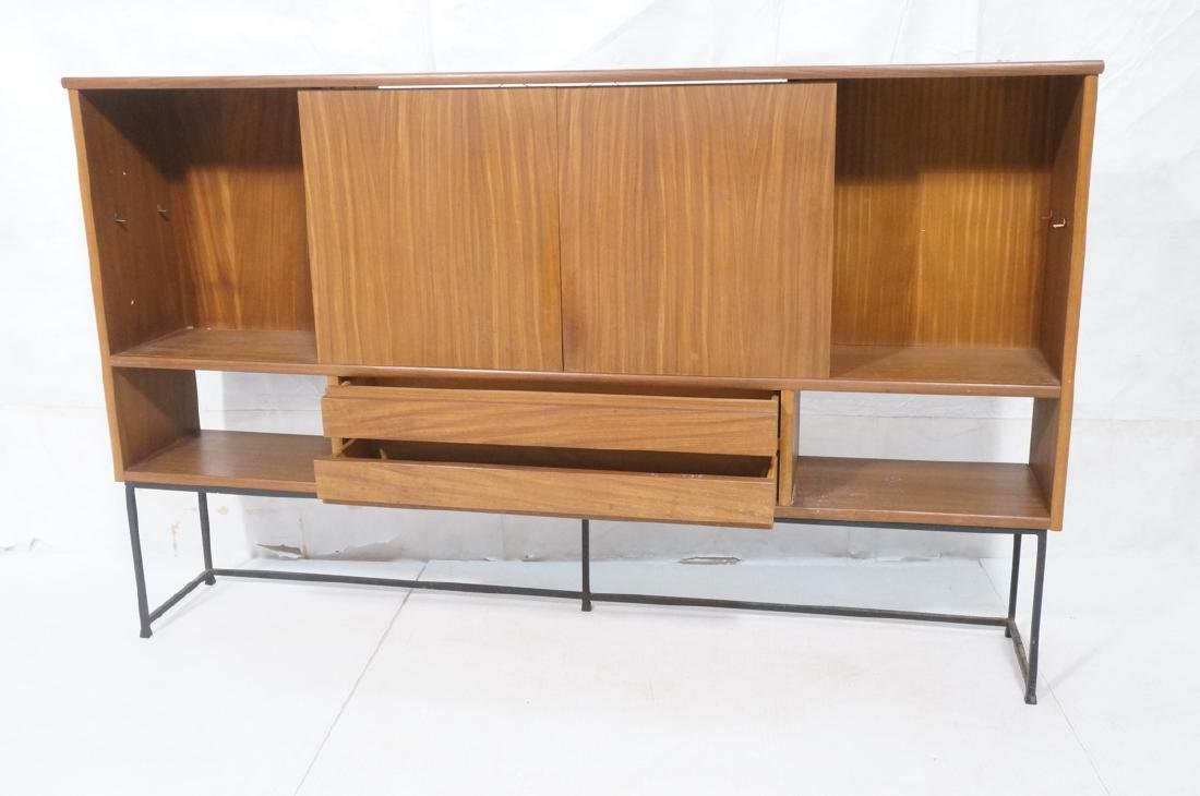 American Modern Walnut Cabinet Display Unit. 2 sl - 4