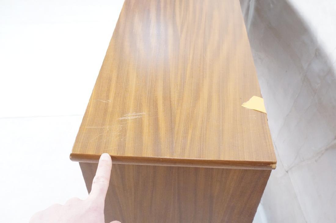 American Modern Walnut Cabinet Display Unit. 2 sl - 7