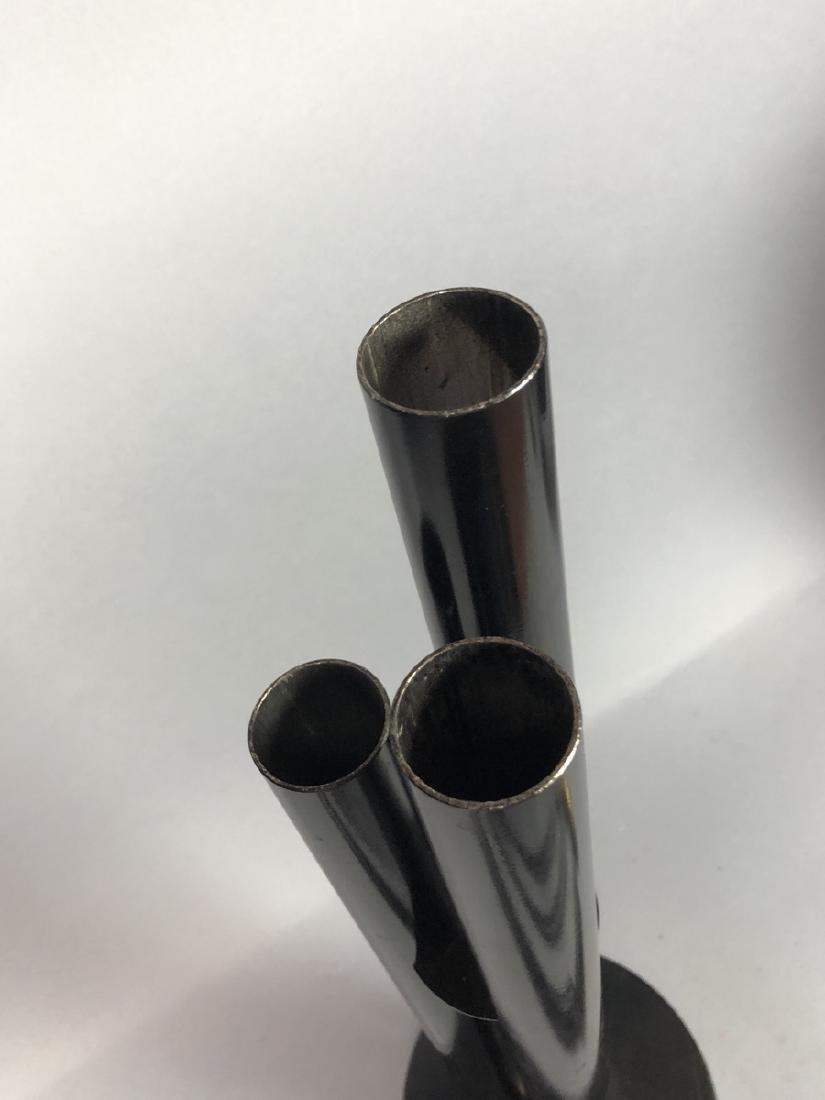 Unique Modern Metal Fireplace Tool Set. 3 hollow - 3