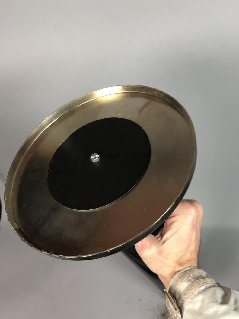 Unique Modern Metal Fireplace Tool Set. 3 hollow - 4