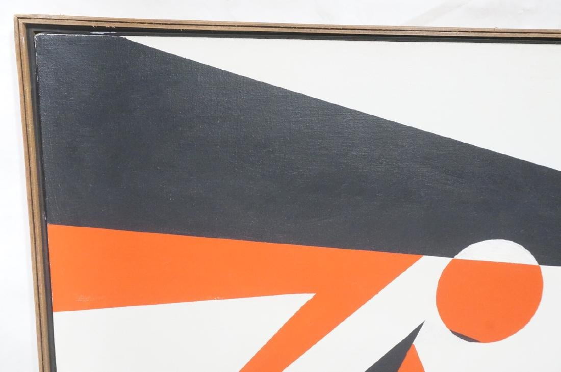 HELEN GERARDIA Modern Abstract Oil Painting. Geom - 2