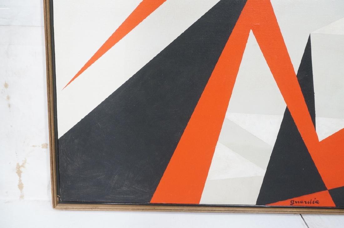 HELEN GERARDIA Modern Abstract Oil Painting. Geom - 3