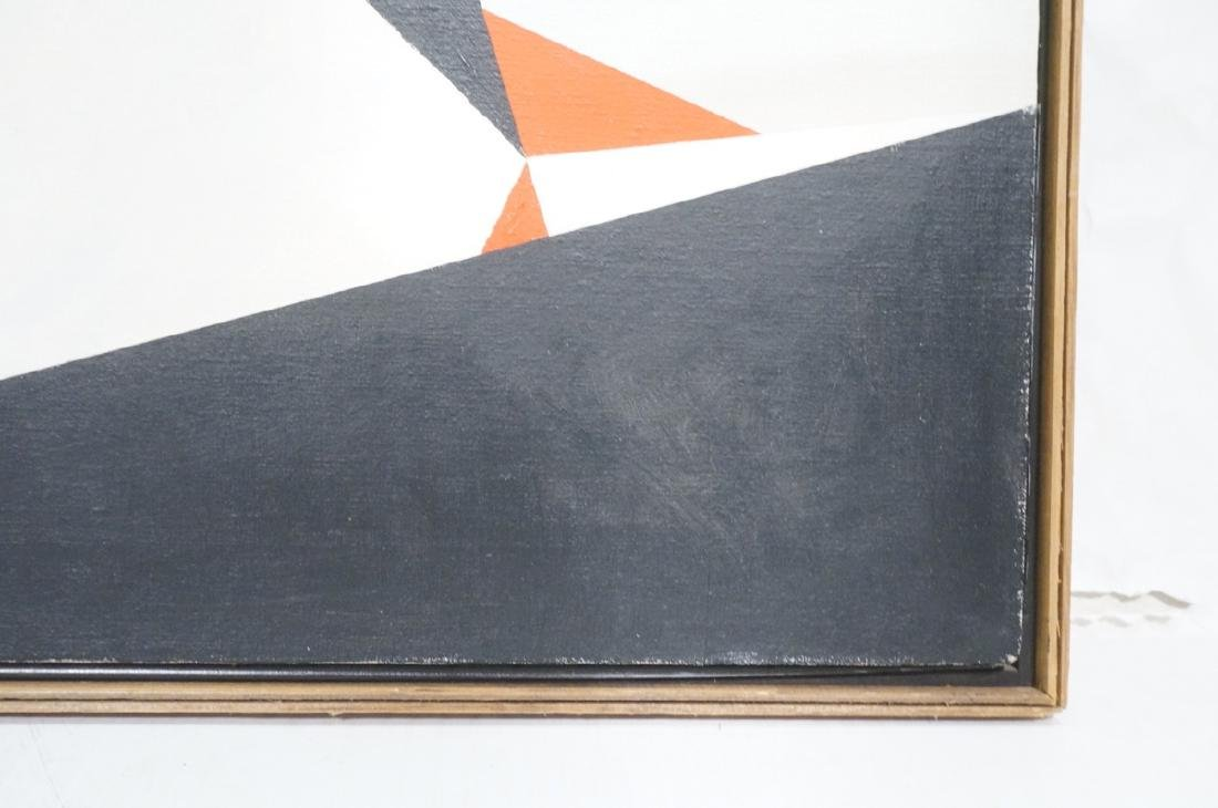 HELEN GERARDIA Modern Abstract Oil Painting. Geom - 5