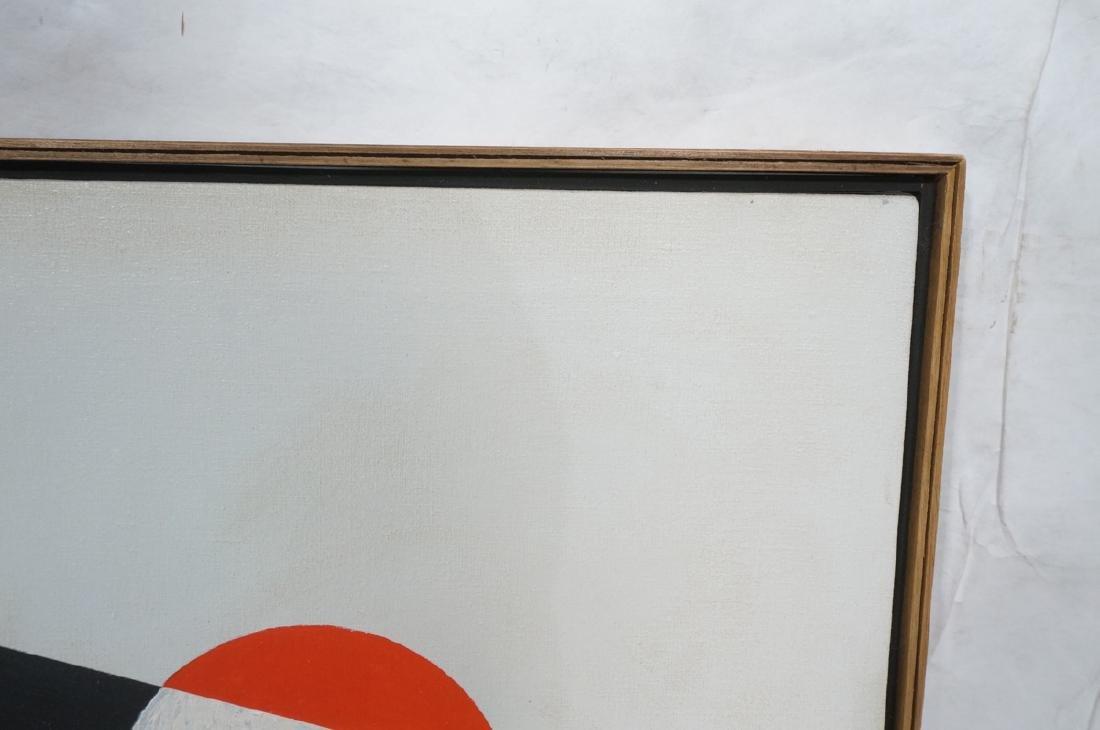 HELEN GERARDIA Modern Abstract Oil Painting. Geom - 6