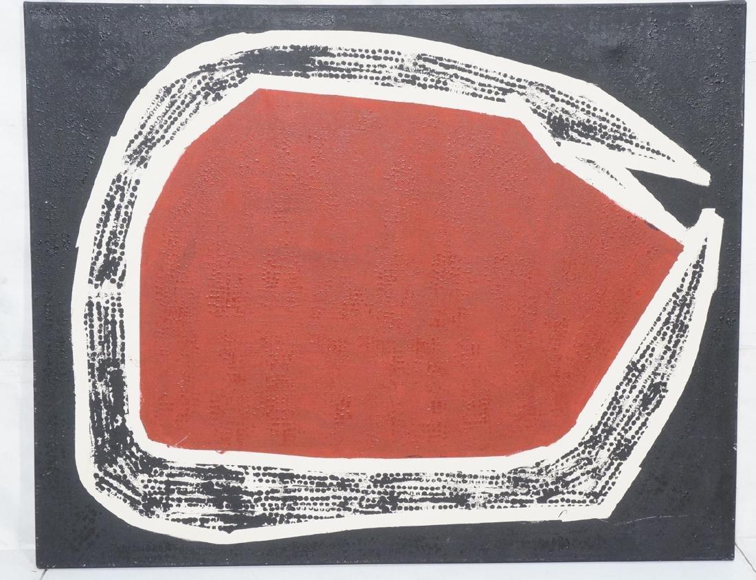 """JAMES EDWARD JONES Oil Painting. """"Snake Devouring"""