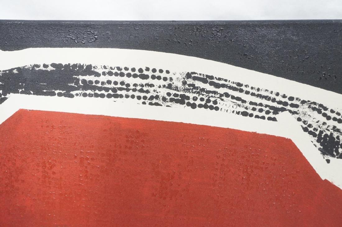 """JAMES EDWARD JONES Oil Painting. """"Snake Devouring - 3"""