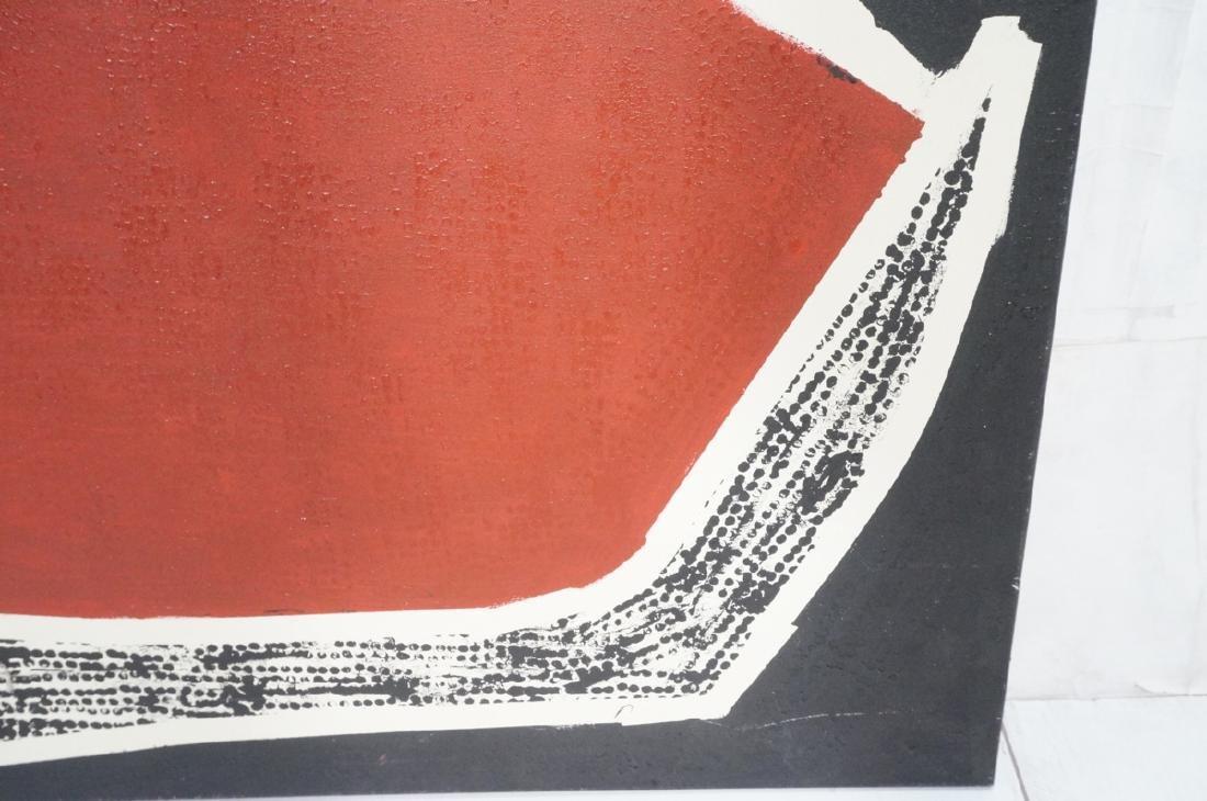 """JAMES EDWARD JONES Oil Painting. """"Snake Devouring - 6"""