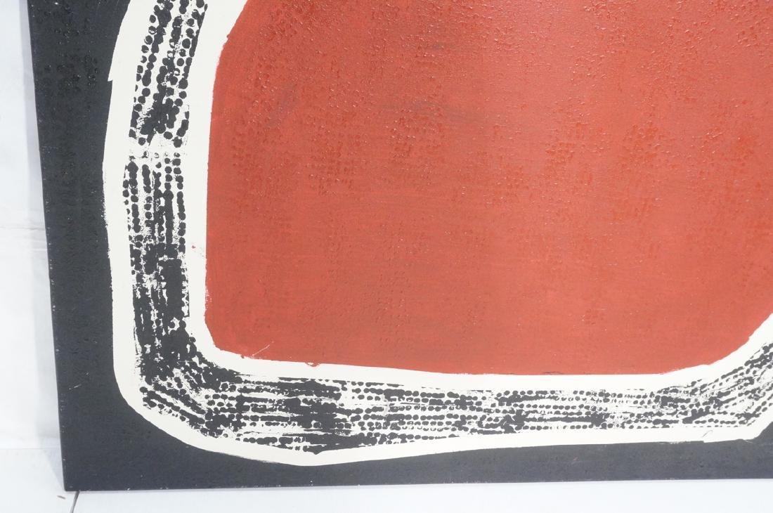"""JAMES EDWARD JONES Oil Painting. """"Snake Devouring - 8"""