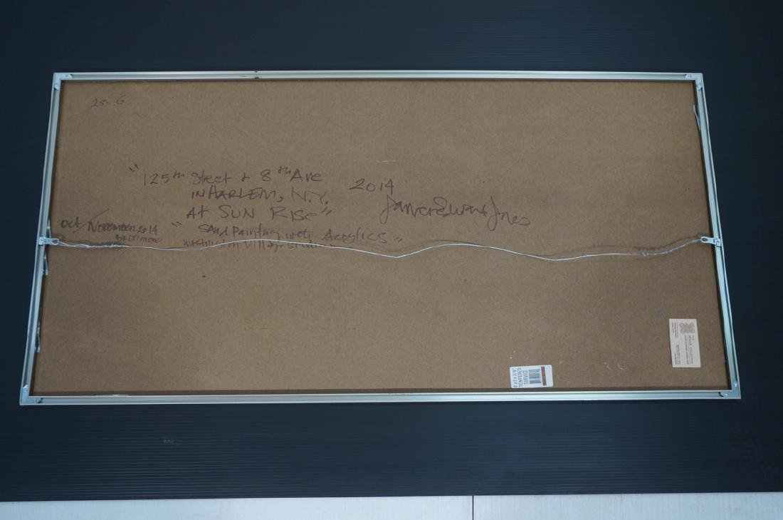 "JAMES EDWARD JONES Modernist Abstract Painting. "" - 8"