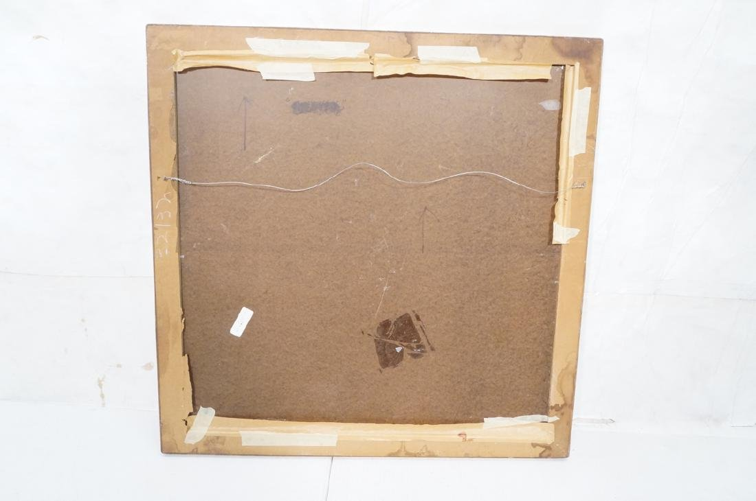 JIMMY LUEDERS Modernist Abstract Painting. Graphi - 8