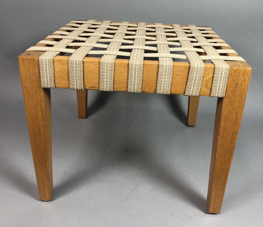 Set 4 Modern Square Stacking Stool Benches. Wood - 3