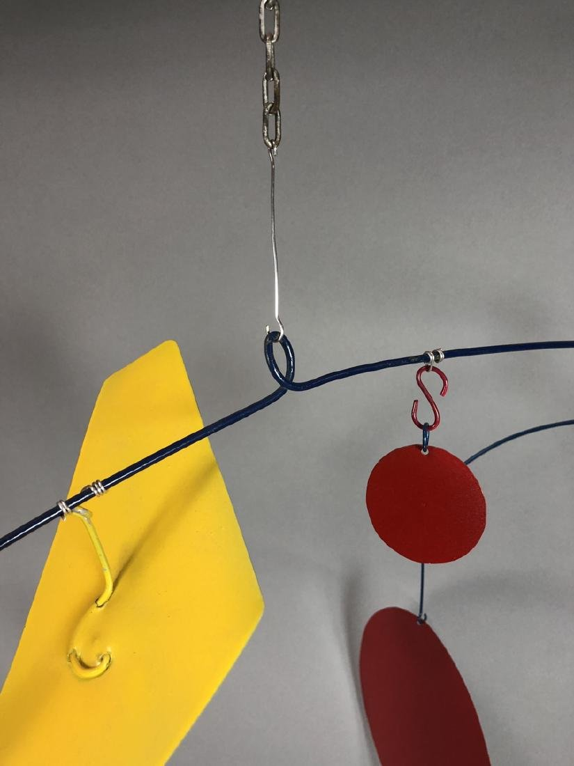Lg Primary Colors Moveable Art Mobile. WILLIAM L. - 8