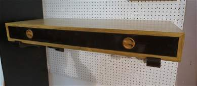HARVEY PROBBER Lacquered Natural Wood Wall Mount