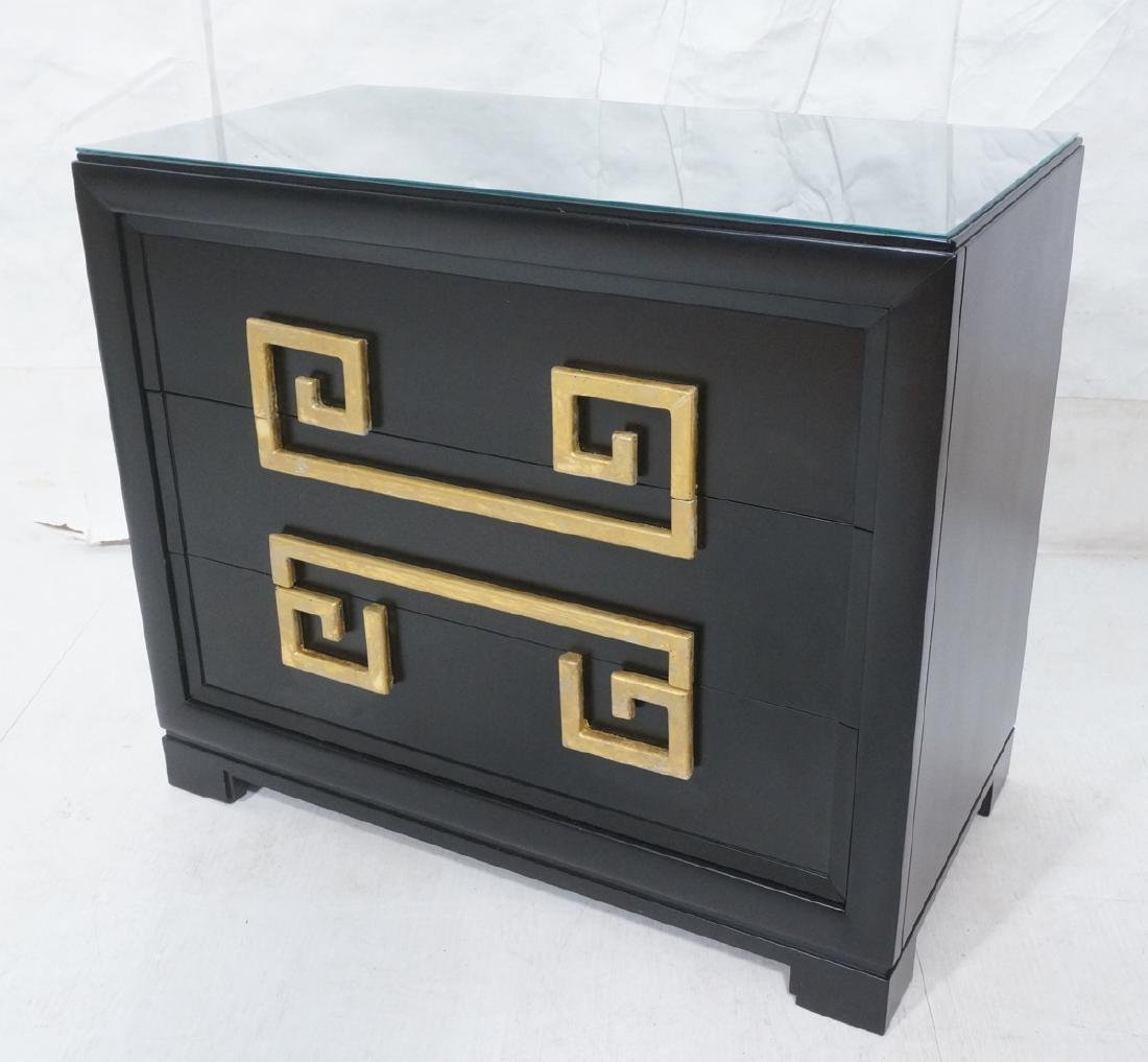 KITTINGER Ebonized Modern Bachelors Chest Dresser