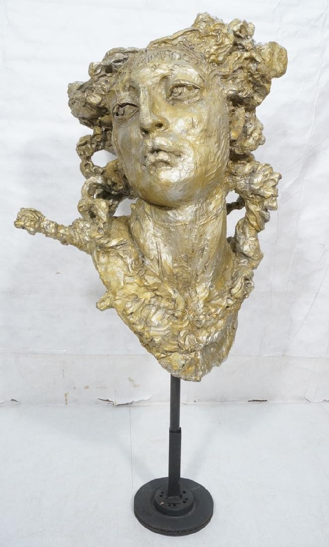 Large Oversized Woman's Bust. In the style of Mar