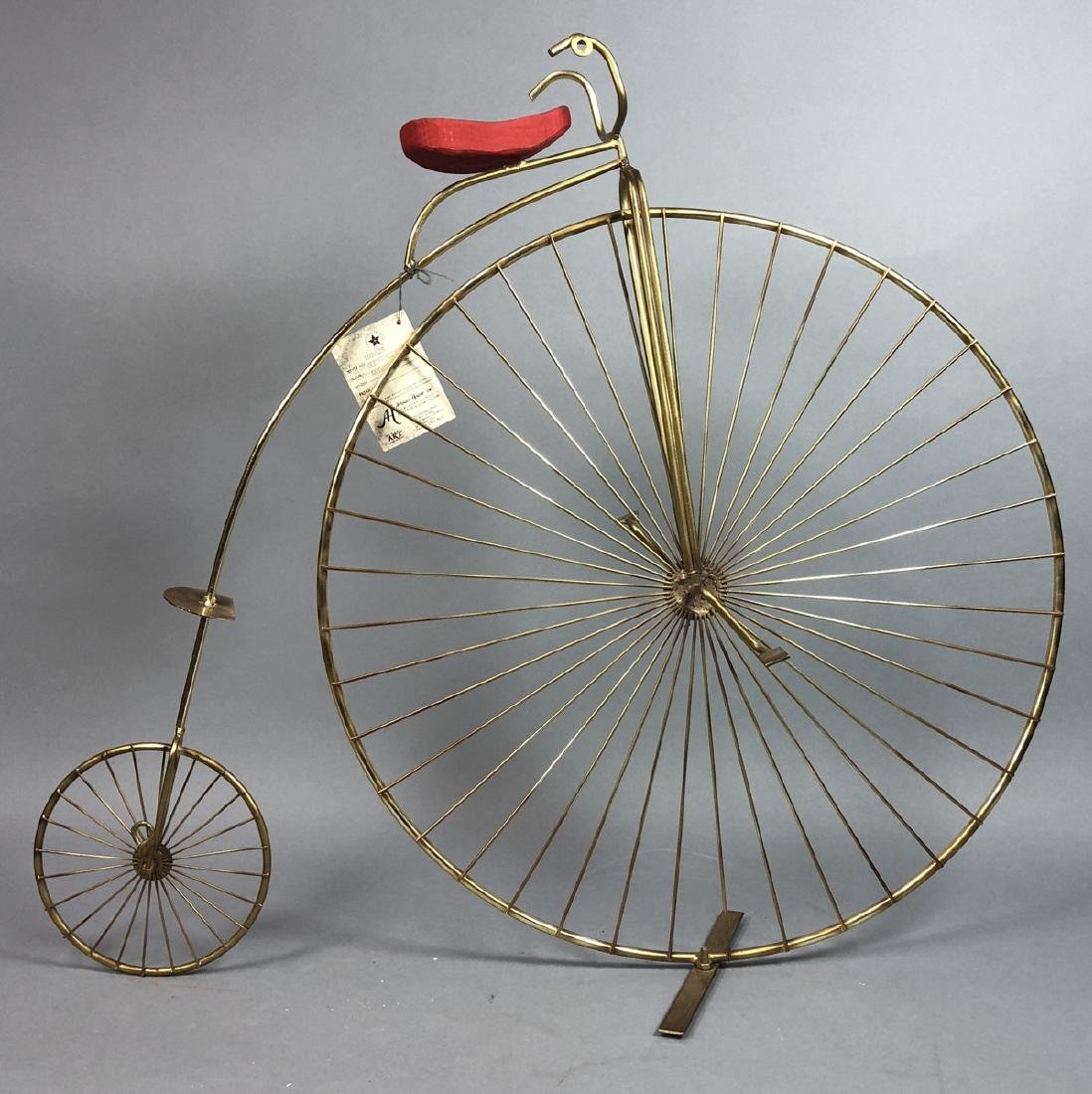 C JERE For ARTISAN HOUSE Big Wheel Bike Sculpture