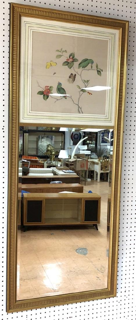 Chelsea House Long Vertical Wall Mirror with Bird