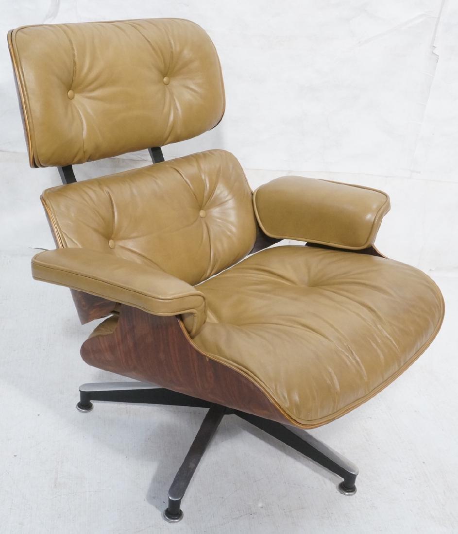 EAMES HERMAN MILLER Rosewood Lounge Chair.
