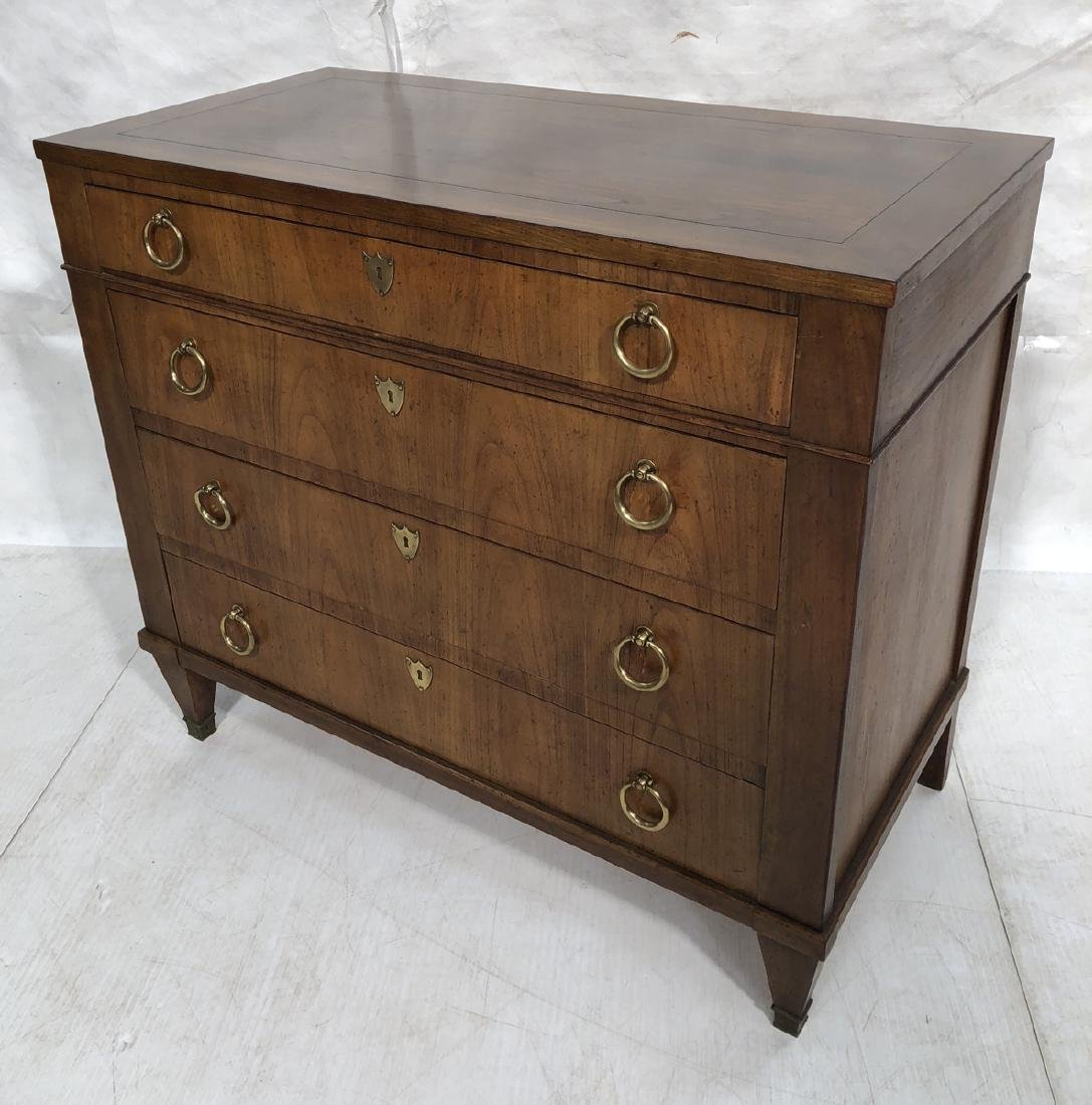 BAKER Decorator Mahogany Bachelor's Chest. Four d